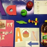 Conecting Show and Tell with the Letter Aa