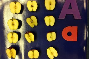 Counting  Apples- Initial sound of Letter Aa